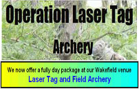 Operation Laser Tag - Archery
